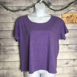 Victoria's Secret Purple T-Shirt Size XL